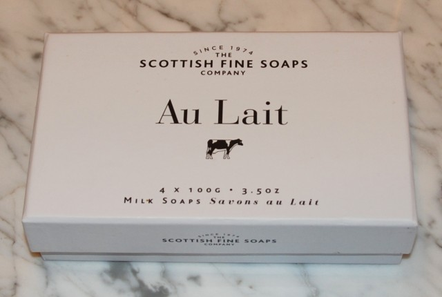 Au Lait Fine Scottish Soaps Set