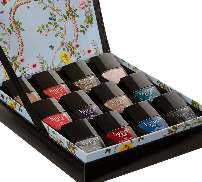 Butter London Luxe Rock 12 Piece Holiday 2013 Gift Set Free Diva