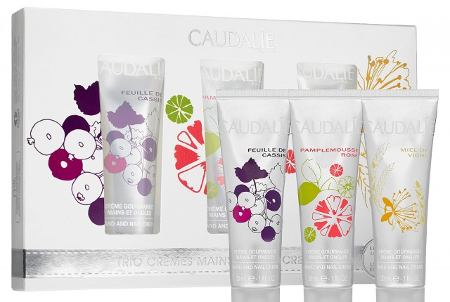 Caudalie Hand Cream Trio, Holiday 2013