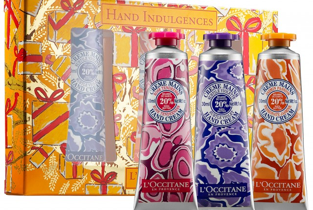L'Occitane Hand Indulgences Set, Holiday 2013