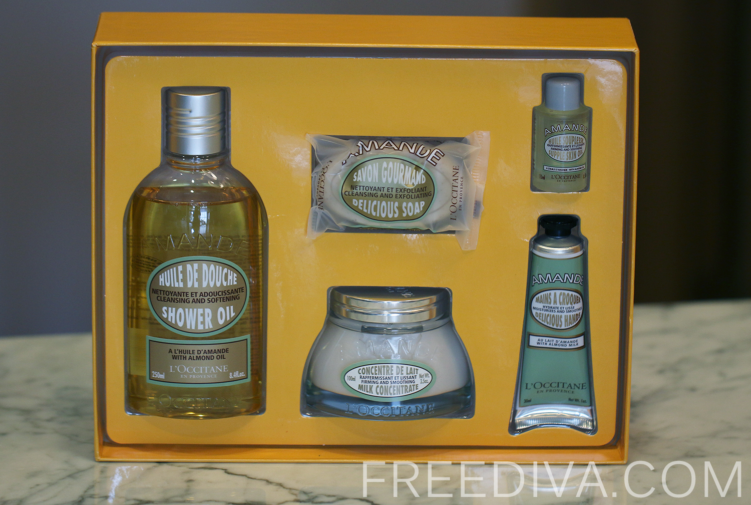 L'Occitane Delicious Almond Set, Holiday 2013