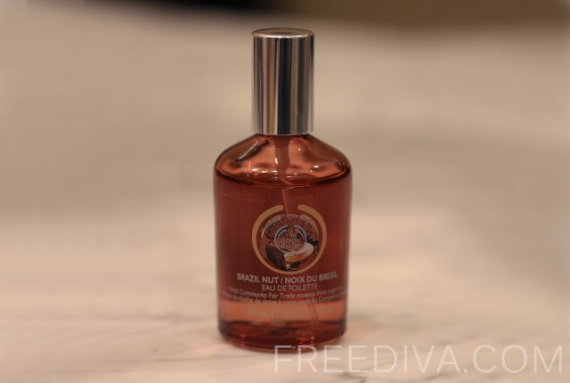 Brazil Nut, Eau de Toilette, The Body Shop