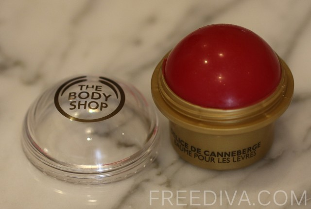Cranberry Joy, Lip Balm, The Body Shop