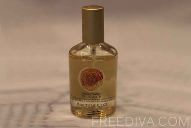 Honeymania Eau de Toilette, The Body Shop