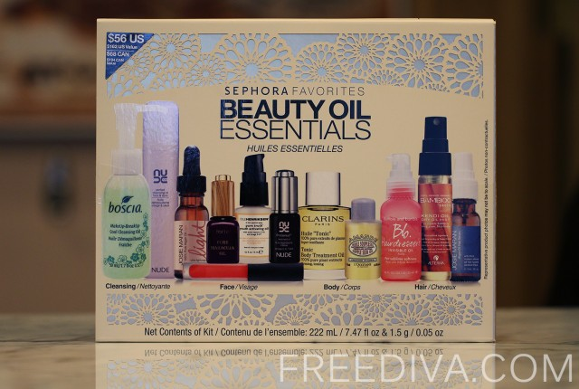 Sephora Favorites, Beauty Oil Essentials Set