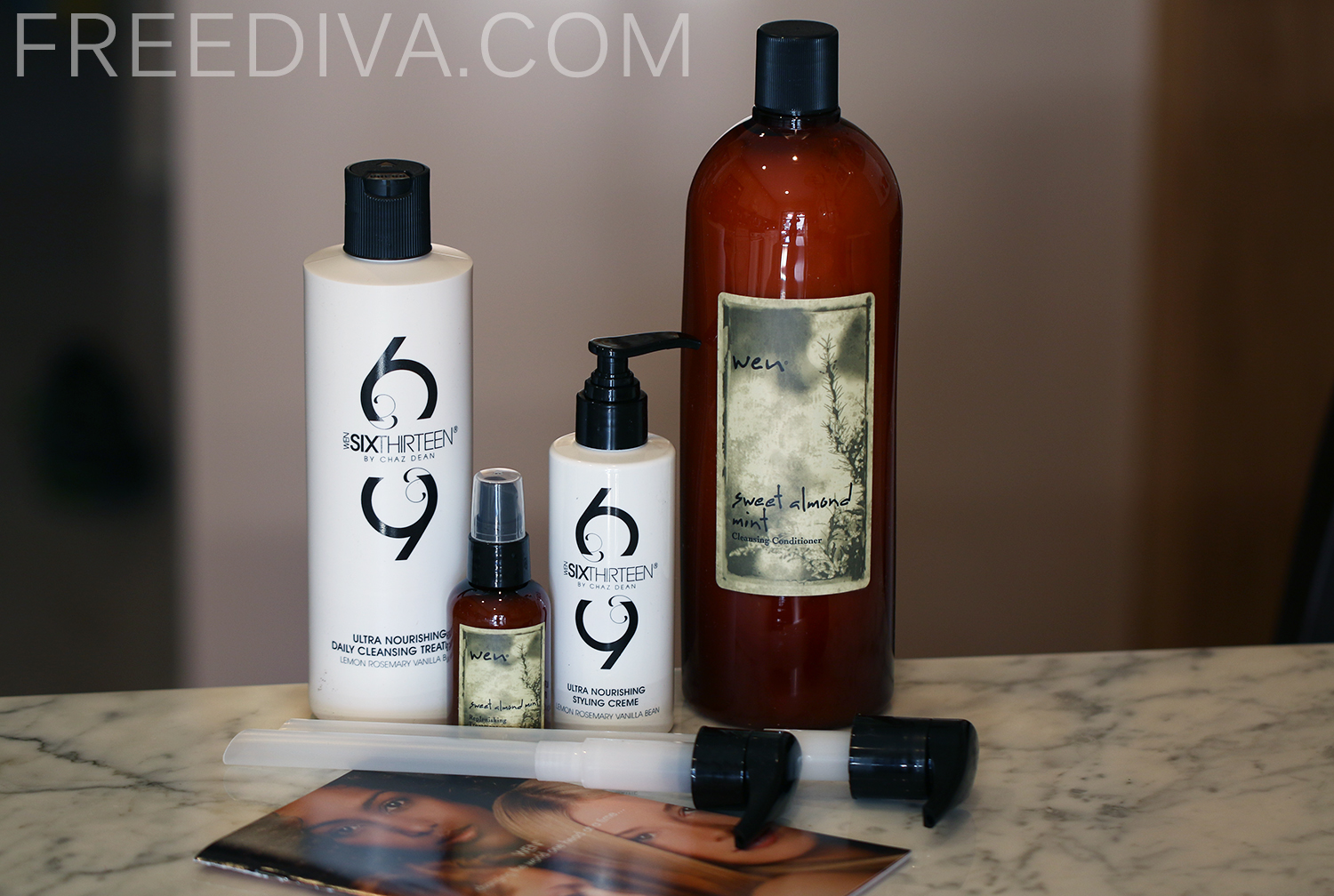 WEN by Chaz Dean, Cleanse, Restore, and Style 4-piece Collection