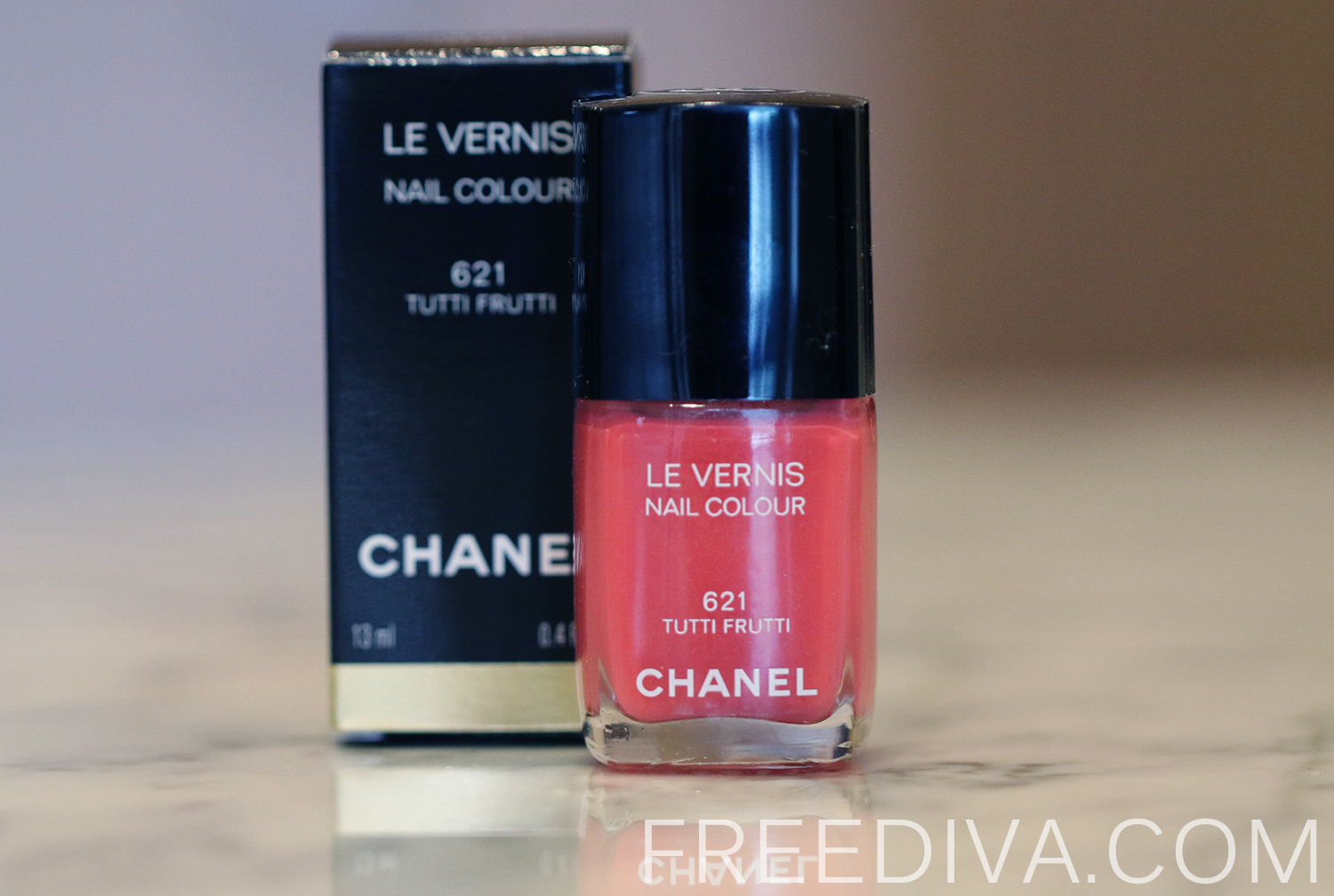 Chanel Nail Color in 621 Tutti Frutti, Summer 2014 Limited Edition ...