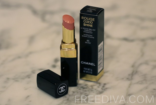 Chanel Rouge Coco Shine 85 Secret