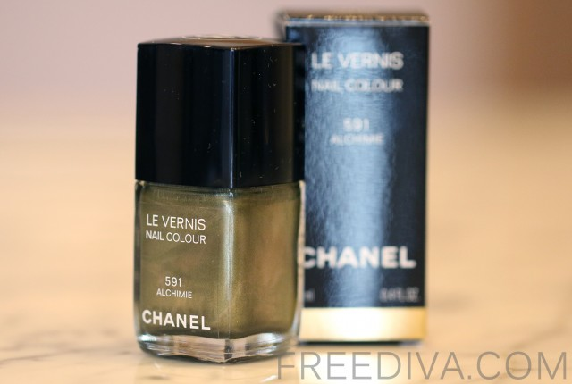 Chanel Alchimie 591 Le Vernis Nail Color