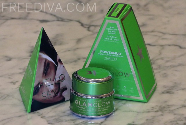 "Powermud ""Mud to Oil"" DualCleanse Treatment Mask from GlamGlow"