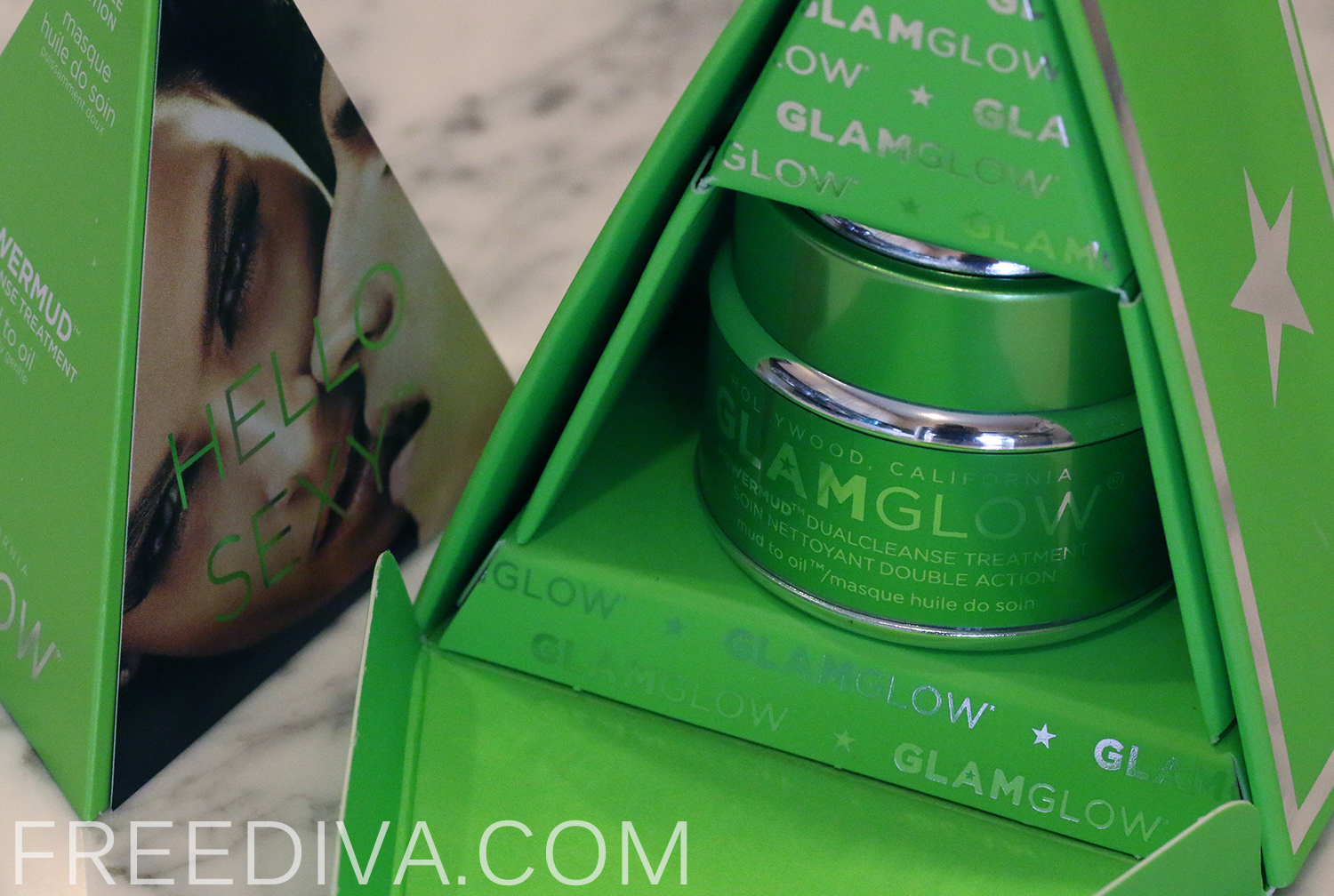 """Powermud """"Mud to Oil"""" DualCleanse Treatment Mask from GlamGlow"""