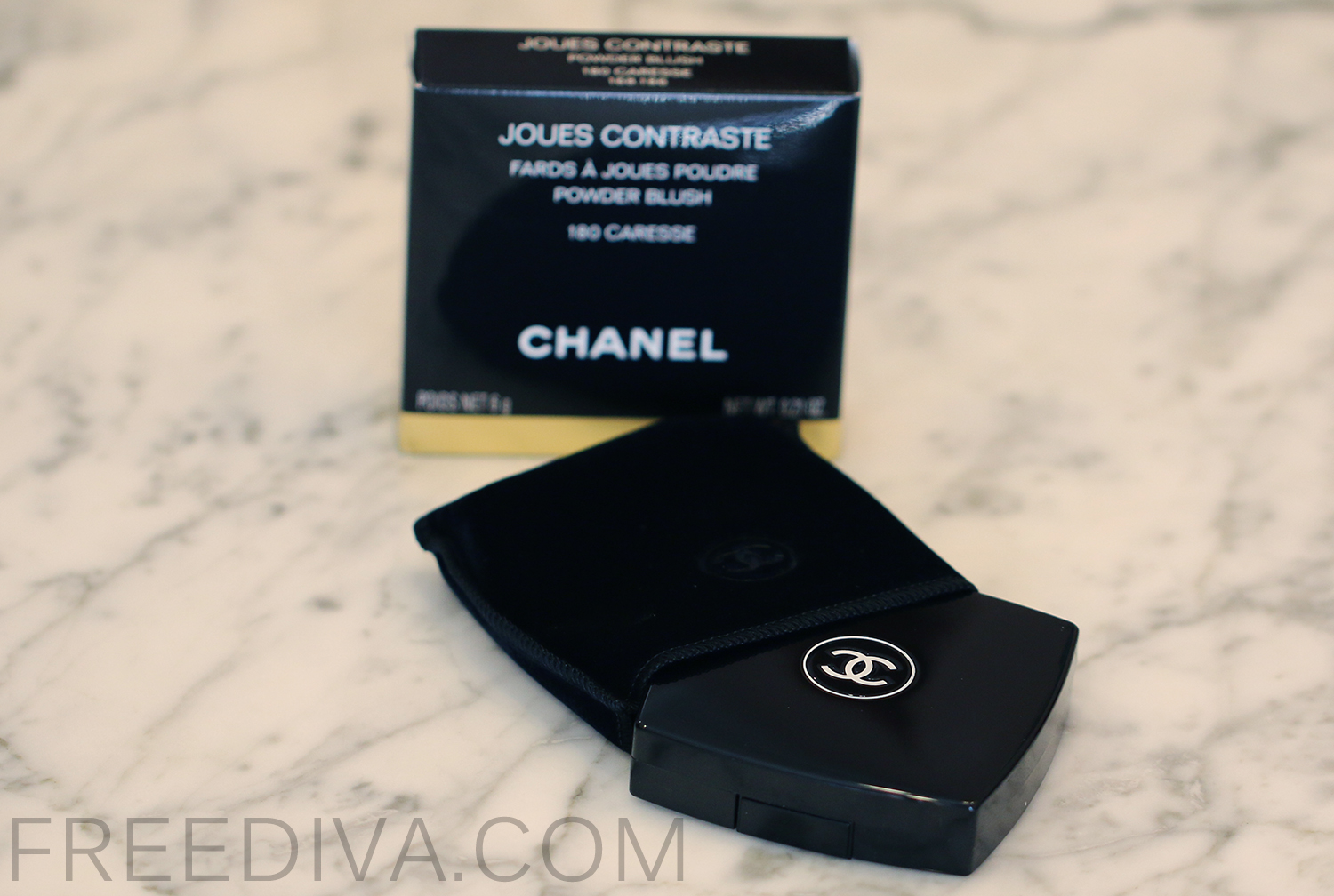Chanel Powder Blush, 180 Caresse, Holiday 2014