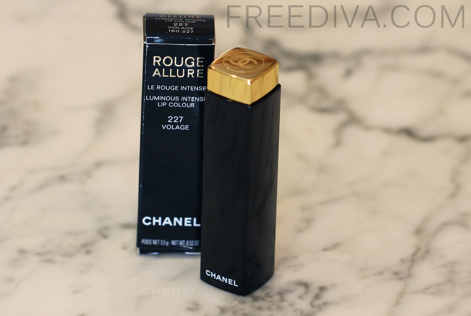 Chanel Rouge Allure 227 Volage, Lip  Color, Holiday 2014