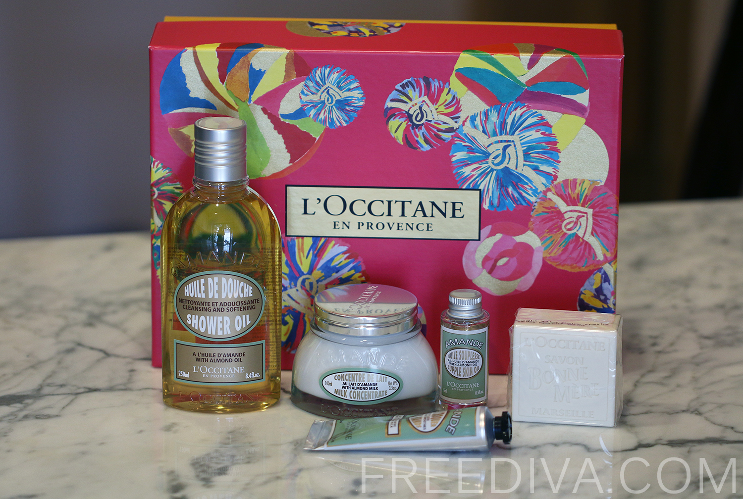 L'Occitane Delicious Almond Set, Holiday 2014