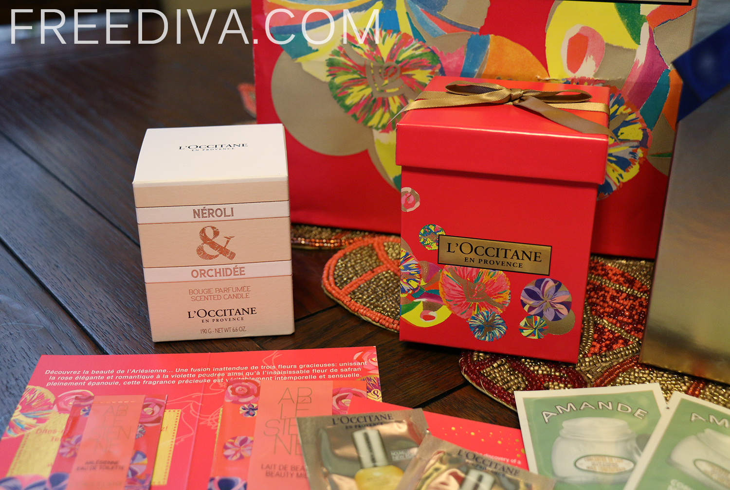 L'Occitane Haul, Holiday 2014, Gifts