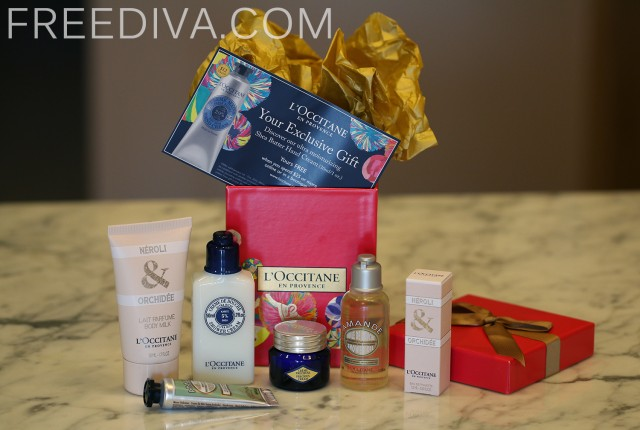 L'Occitane Sparkle Holiday 2014 Box