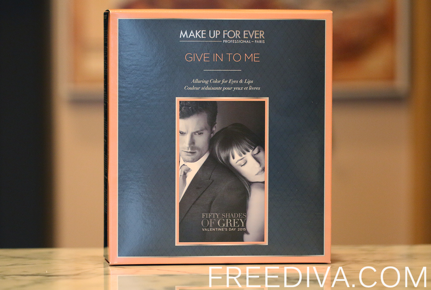 Give in to Me, Make Up For Ever, Fifty Shades of Grey