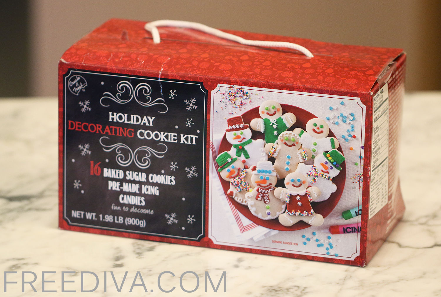 Holiday Decorating Cookie Kit