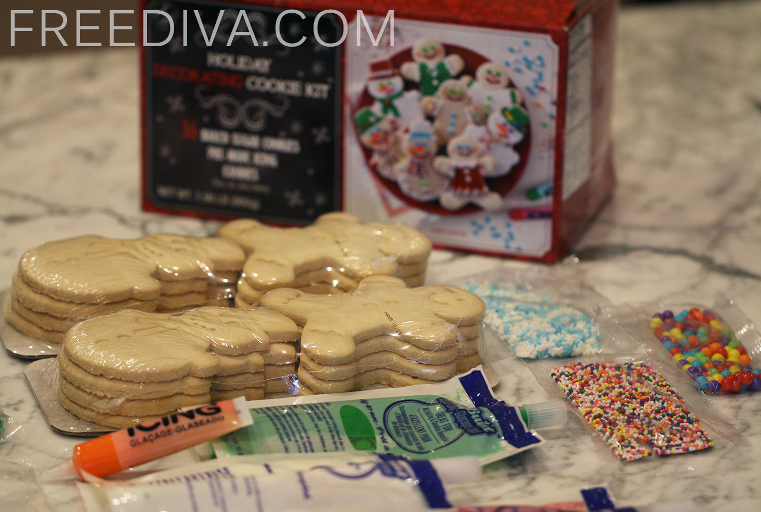 BJs Holiday Decorating Cookie Kit