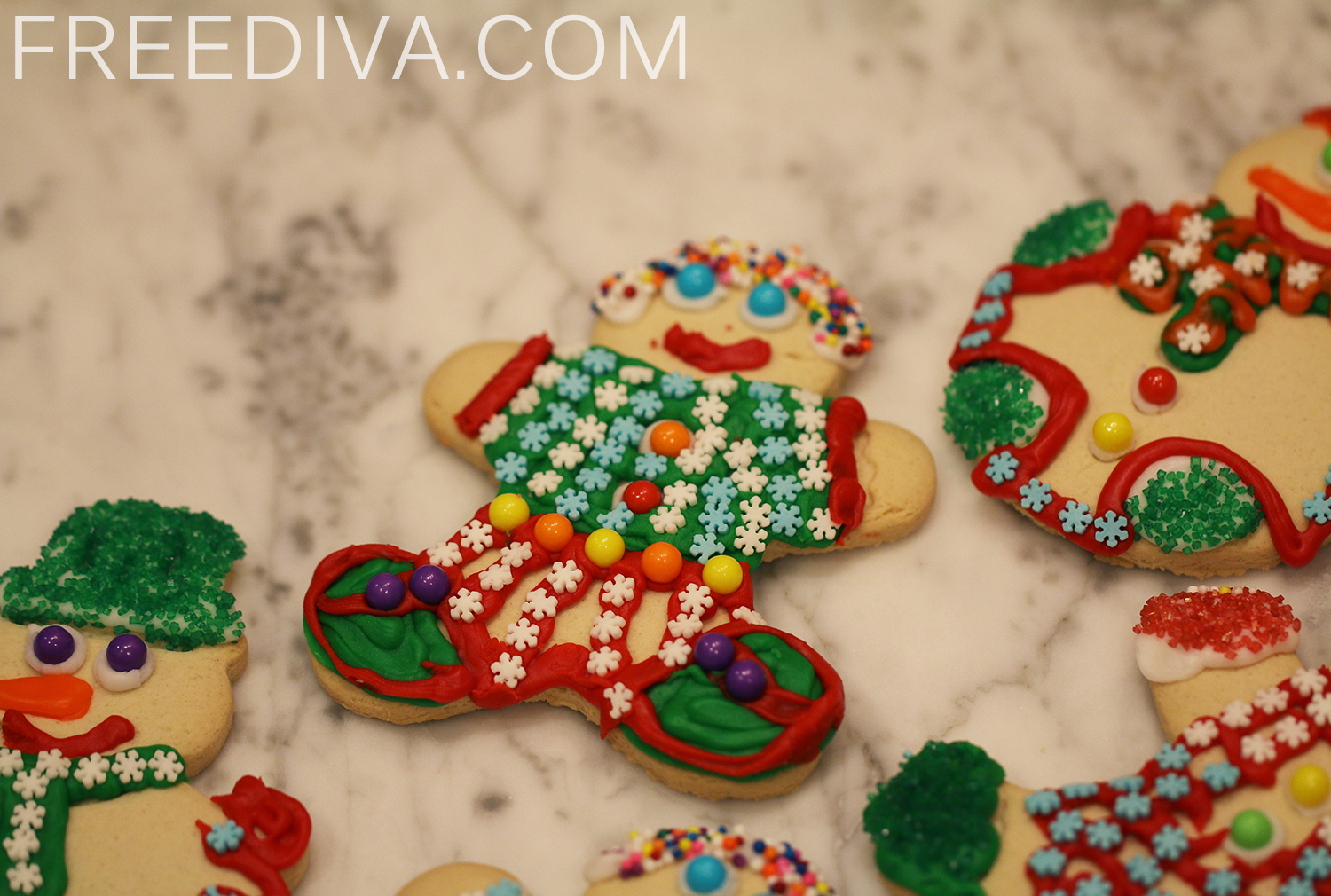 BJs Holiday Decorating Cookie Kit - Free Diva