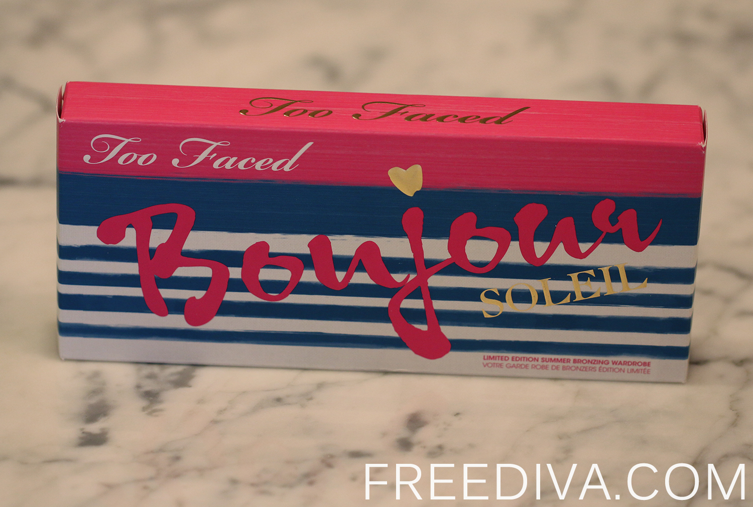 "Too Faced ""Bonjour Soleil"" Summer Bronzing Wardrobe, Limited Edition"