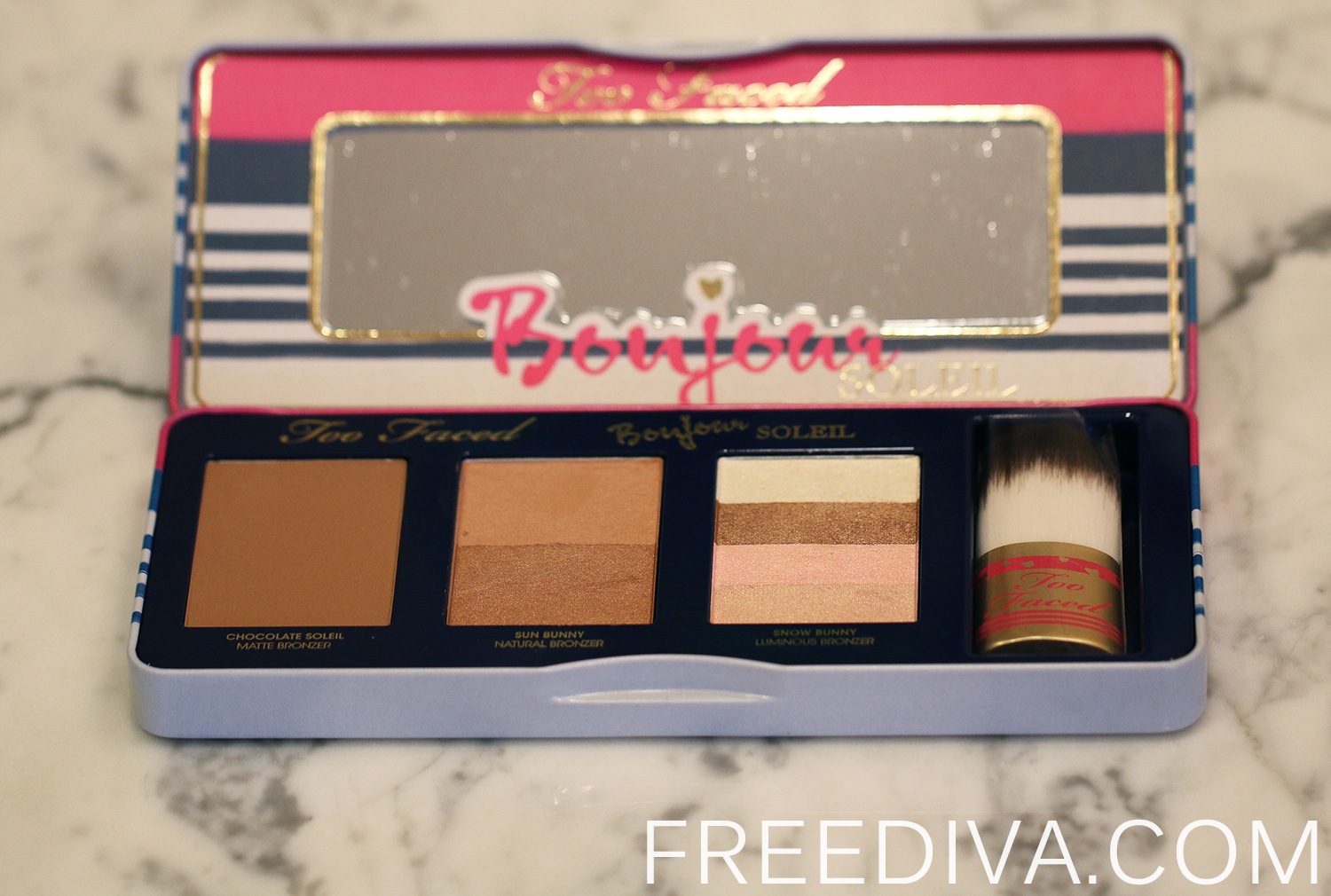"Too Faced ""Bonjour Soleil"" Summer Bronzing Wardrobe Limited Edition"
