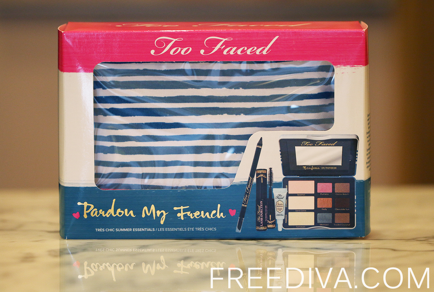 Too Faced Pardon My French Set Limited Edition