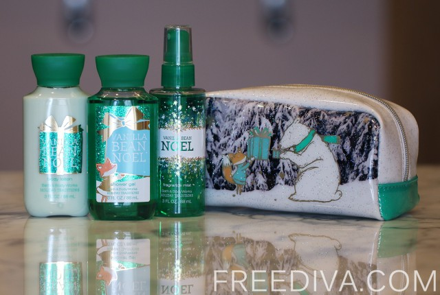 Vanilla Bean Noel Gift Set, Bath & Body Works, Holiday 2014