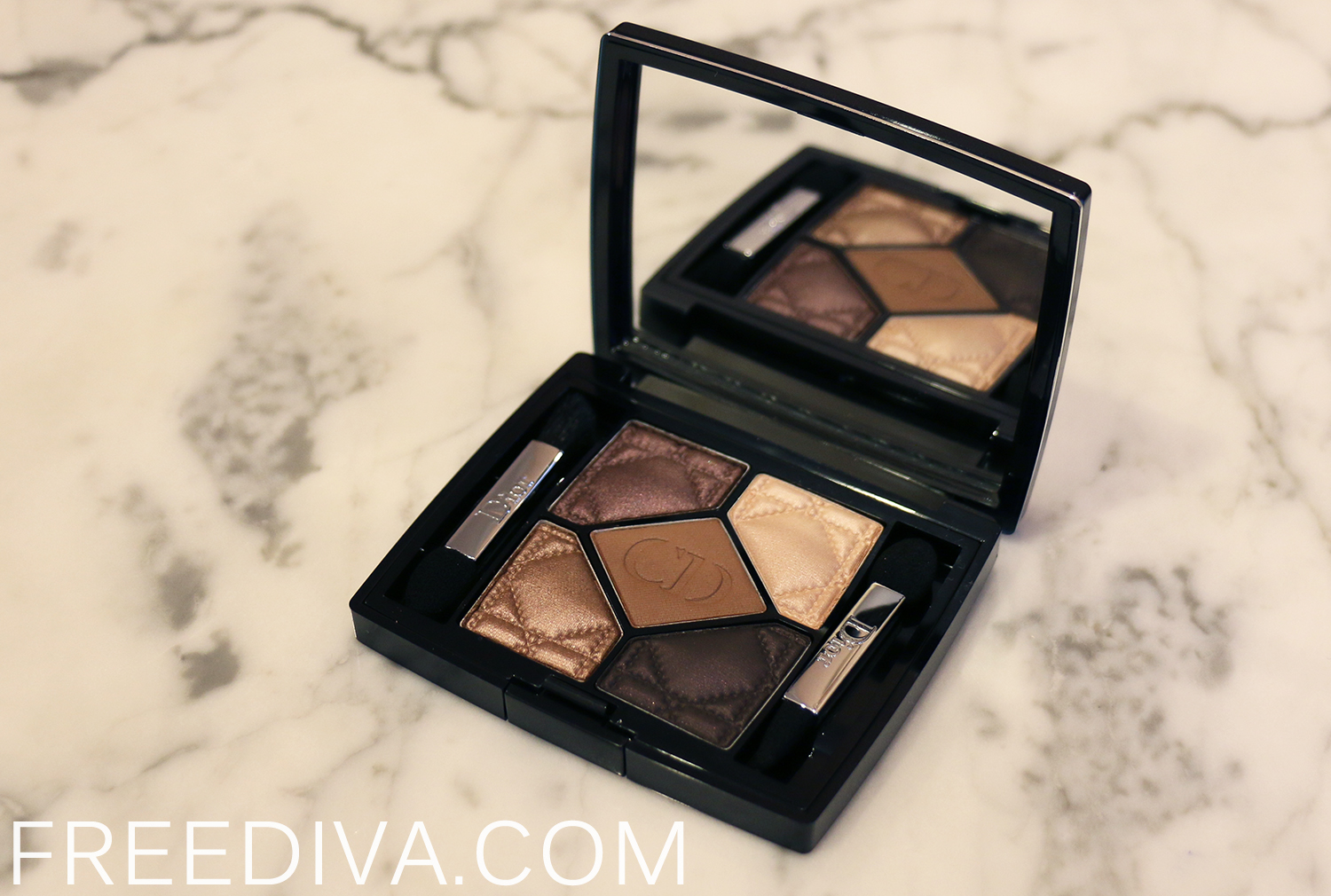 Dior 796 Cuir Cannage 5 Color Palette