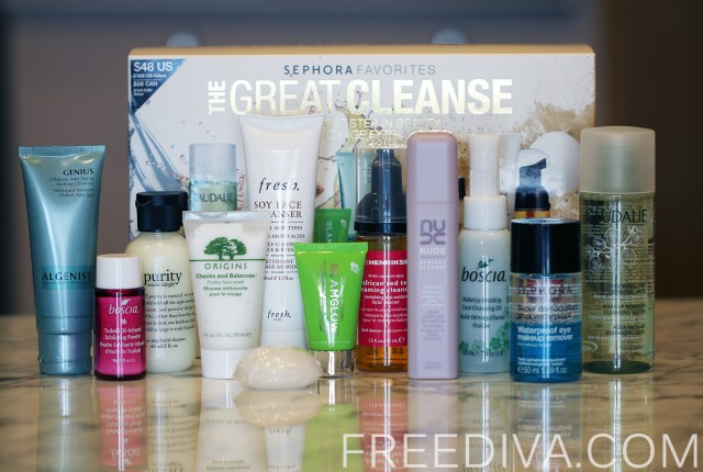 Sephora Favorites The Great Cleanse Set
