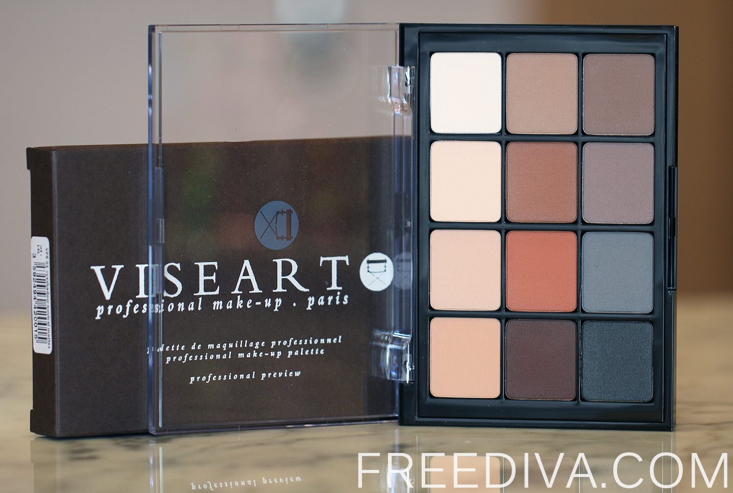 Viseart Eyeshadow Palette 01 Neutral Matte