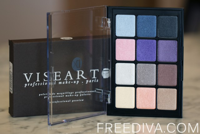 Viseart Eyeshadow Palette 03 Bridal Satin