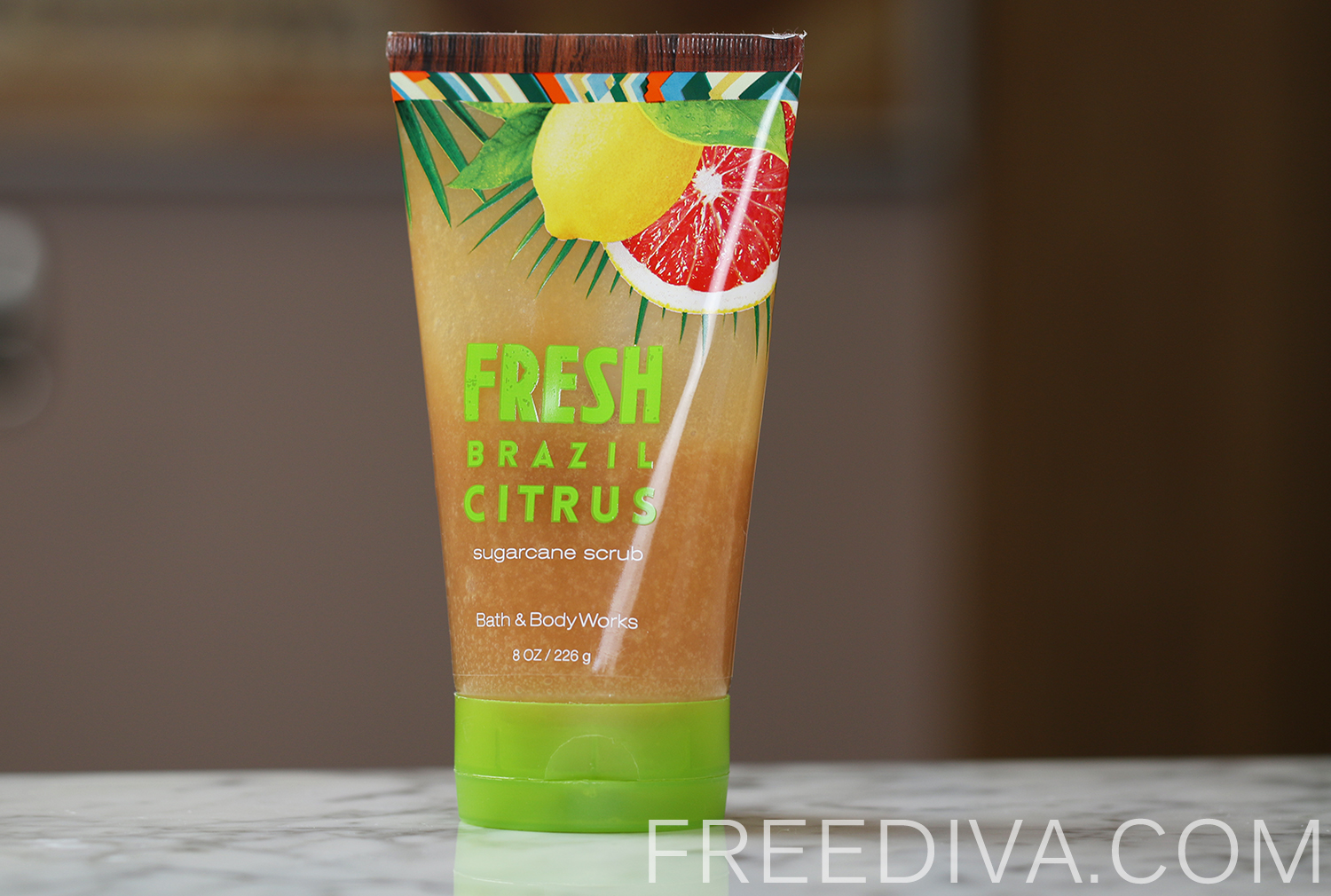 Fresh Brazil Citrus Sugarcane Scrub Bath & Body Works