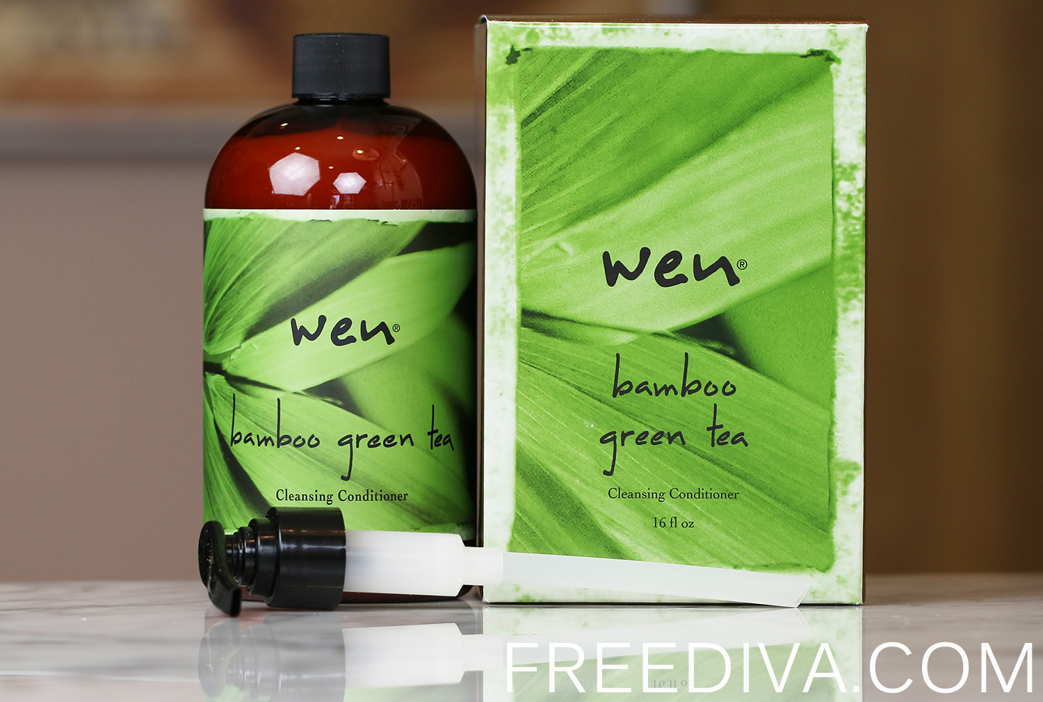 WEN by Chaz Dean Bamboo Green Tea Cleansing Conditioner