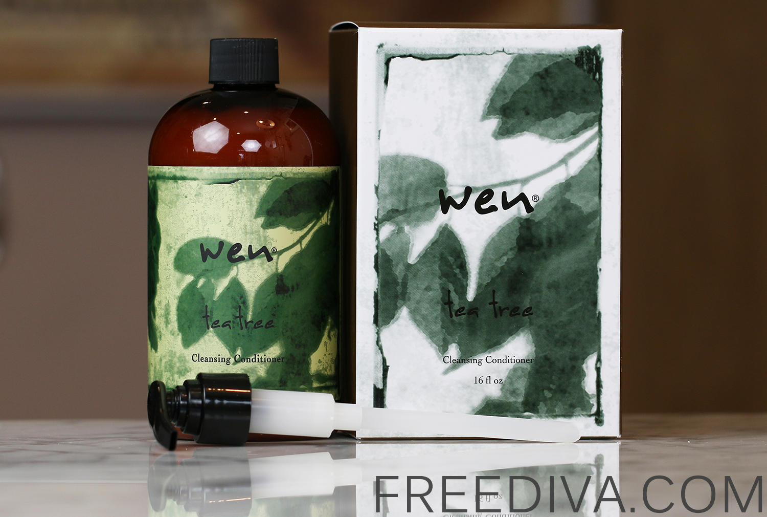 WEN by Chaz Dean Tea Tree Cleansing Conditioner