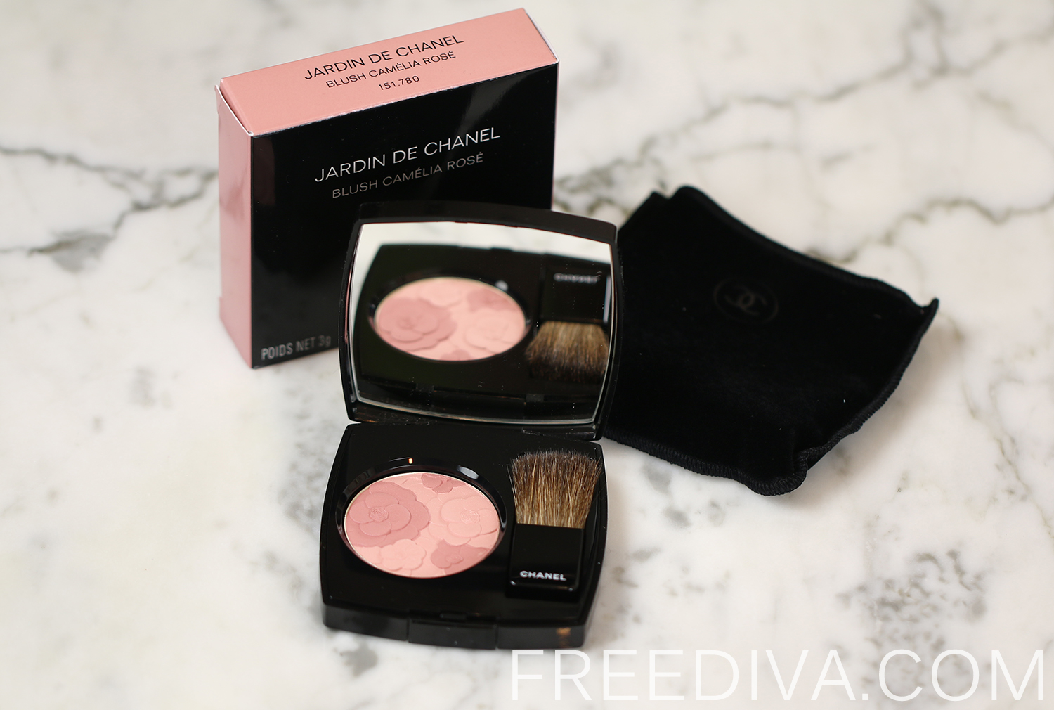 Chanel jardin de chanel blush camelia rose free diva for Jardin de chanel blush 2015 kaufen