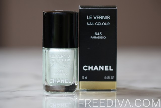 Chanel Paradisio (645) Le Vernis Nail Color Spring 2015