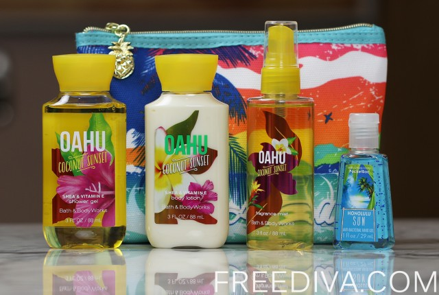 Oahu Coconut Sunset Gift Set Bath & Body Works