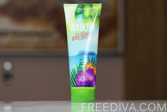 Waikiki Beach Coconut Body Cream Bath & Body Works