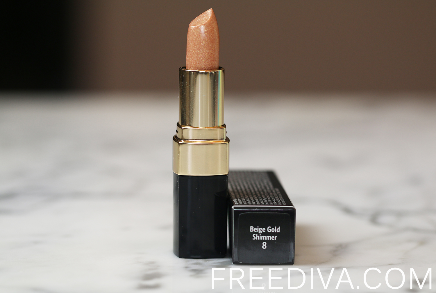 Bobbi Brown Shimmer Finish Lip Color Beige Gold Shimmer Sandy Nudes Collection