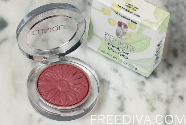 Clinique Cheek Pop Blush in 14 Heather Pop Spring 2015