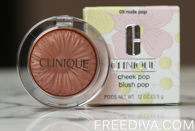 Clinique Cheek Pop Blush in Nude Pop Spring 2015