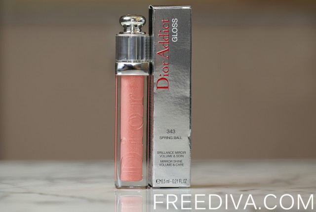 Dior Addict Lip Gloss 343 Spring Ball
