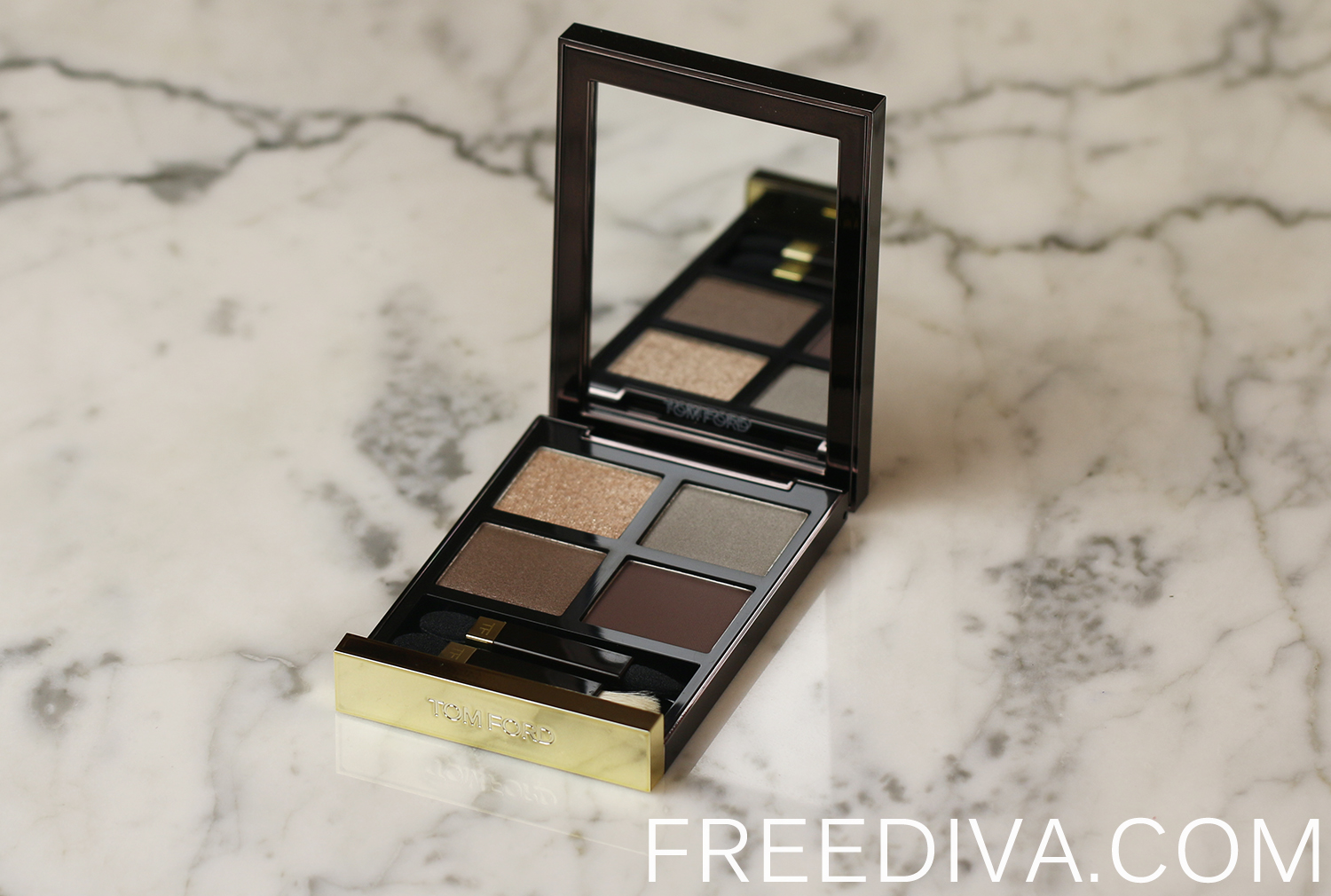 Tom Ford Beauty Eye Color Quad 05 Silvered Topaz Free Diva