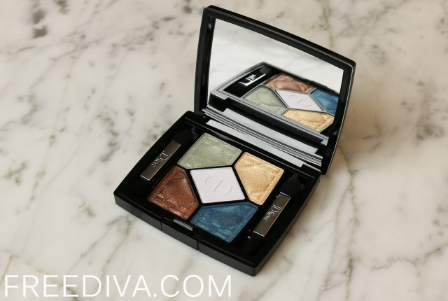 Dior 5 Couleurs Eyeshadow Palette 556 Constraste Horizon Tie Dye Collection