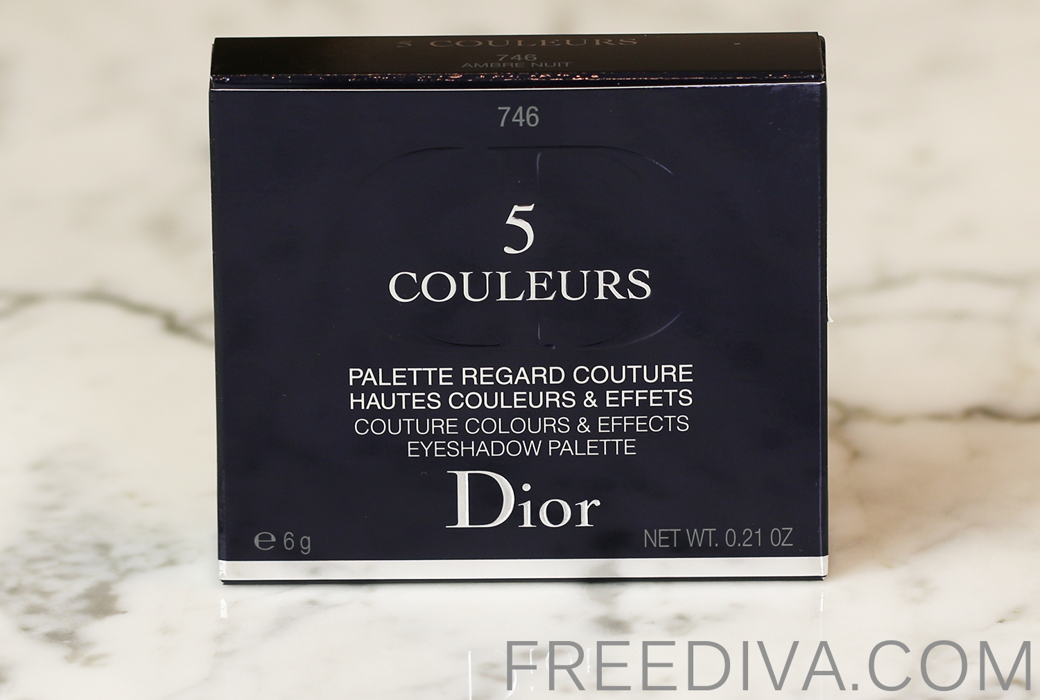 Dior 5 Couleurs Eyeshadow Palette 746 Ambre Nuit Tie Dye Collection