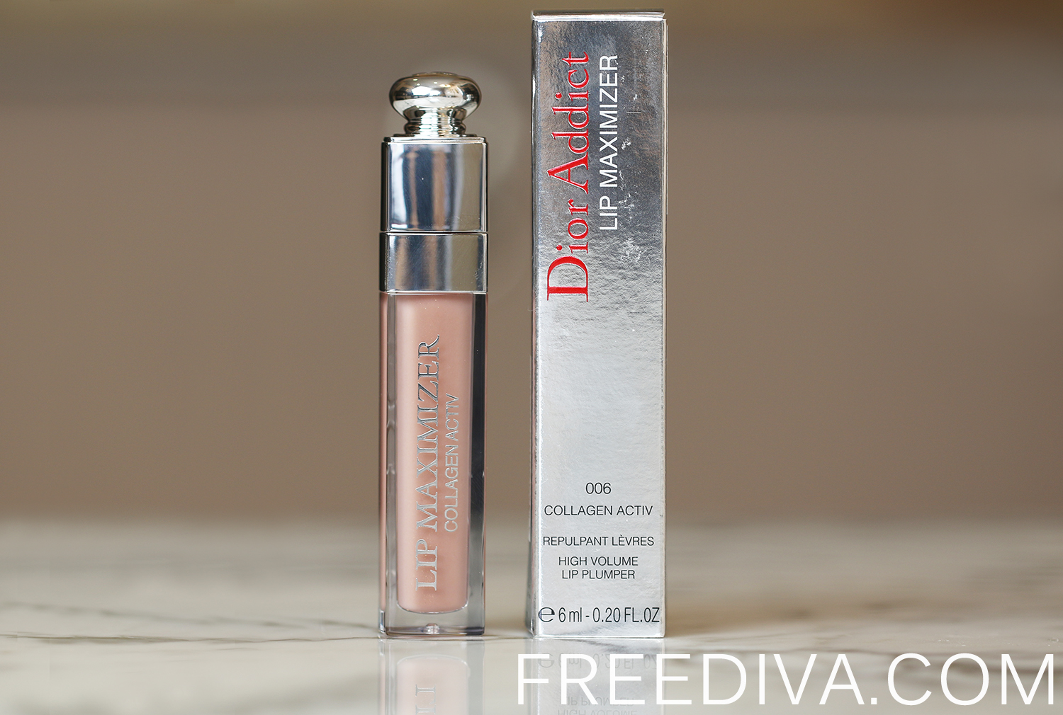 Dior Addict Lip Maximizer 06 Beige Sunrise Tie Dye Collection