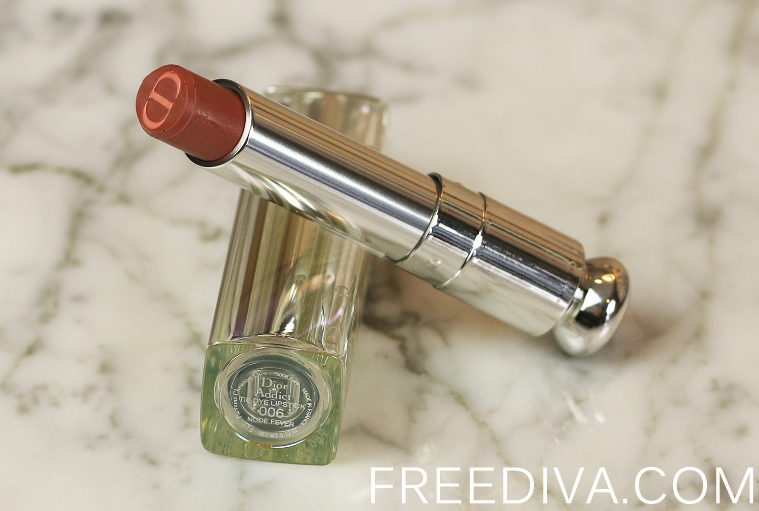 Dior Addict Lipstick 06 Nude Fever Tie Dye Collection