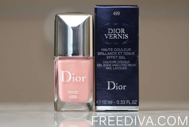 Dior Vernis Nail Lacquer in 499 Rose