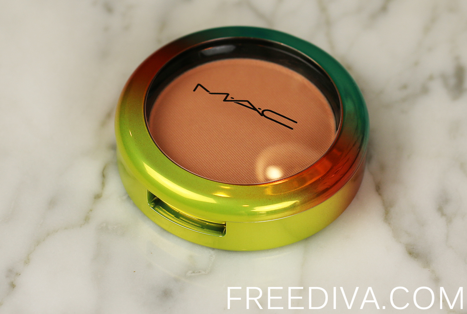 MAC Crisp Whites Powder Blush Wash and Dry Collection